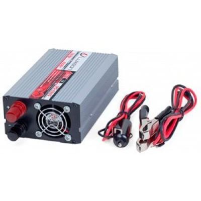 Инвертор 12В-220В Luxeon IPS-600S